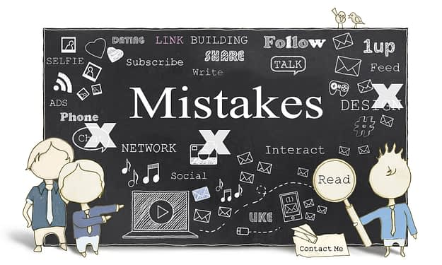 online mistakes to avoid