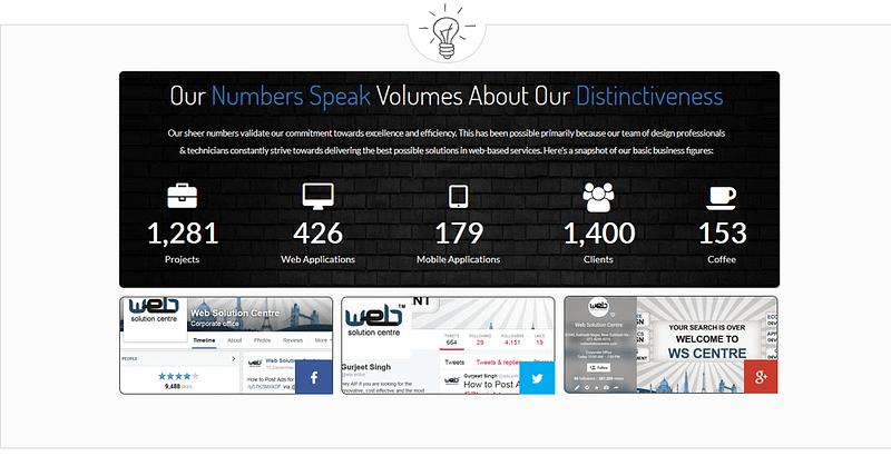 company experience websolutioncentre.com