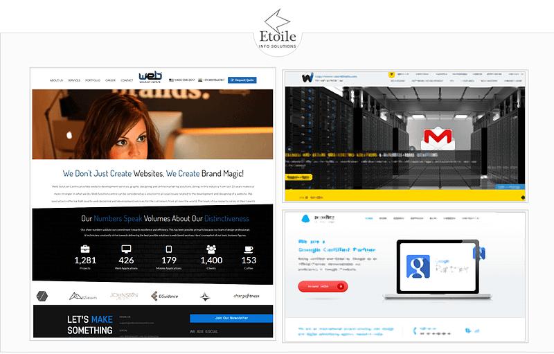 website portfolio india