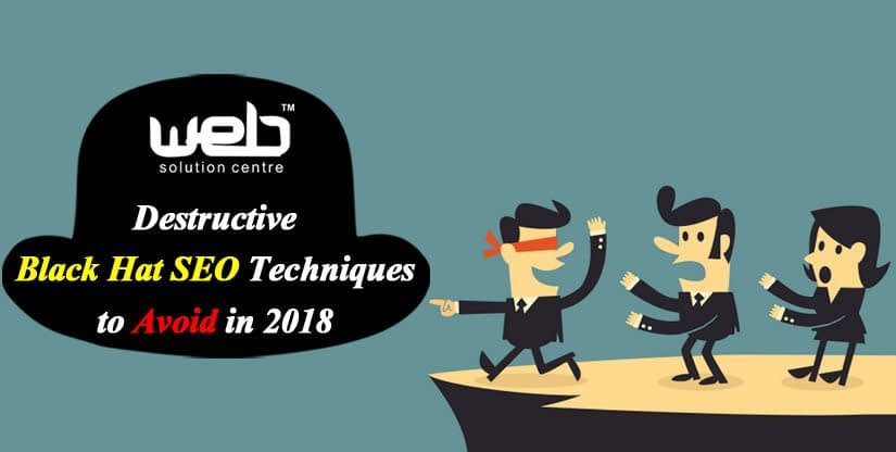 Black Hat SEO Techniques to Avoid in 2018