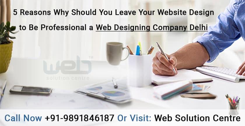 A Professional Web Designing Company Delhi