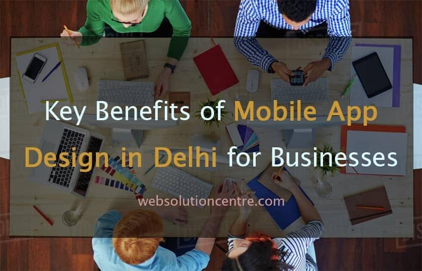 Mobile App Design in Delhi